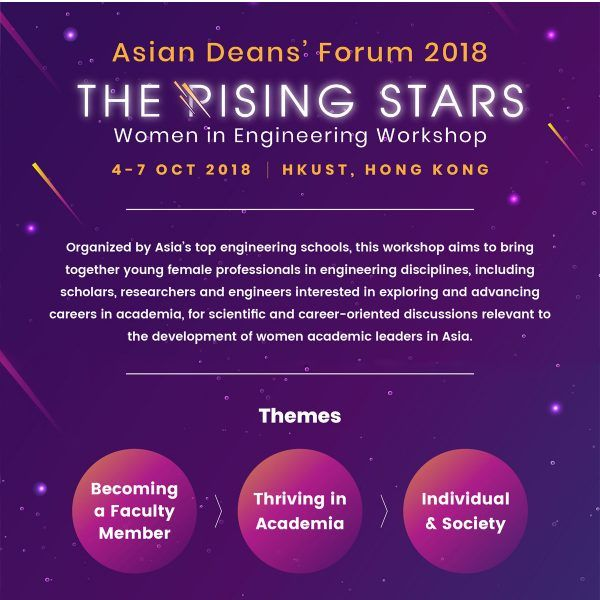The Rising Stars Women in Engineering Workshop