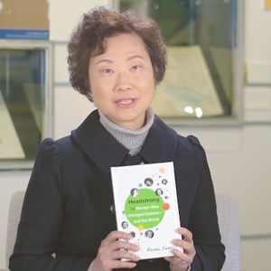 "University Librarian Diana Chan recommended a book named "" Headstrong: 52 Women Who Changed Science - and the World ""."