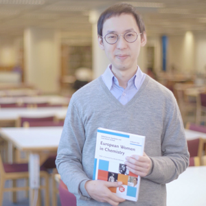 "HKUST, Department of Chemistry, recommended a book named ""European Women in Chemistry""."